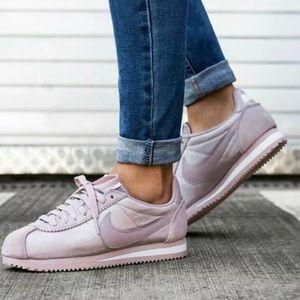 Nike Classic Cortez Rose Particle Nylon Sneaker